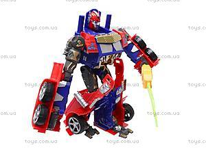 Трансформер-робот с пистолетом на присосках, 9-3, магазин игрушек