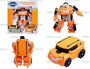 Игрушечная машинка-трансформер Tobot, 238X238Z, цена