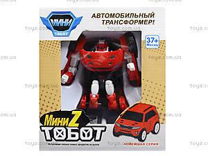 Игрушечная машинка-трансформер Tobot, 238X238Z, Украина