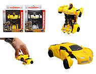 Игрушка трансформер - робот, 999A-1, фото