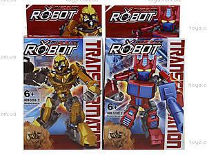 Детская игрушка трансформер-робот для мальчиков, NB308-2, купить