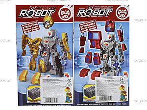Детская игрушка трансформер-робот для мальчиков, NB308-2, фото
