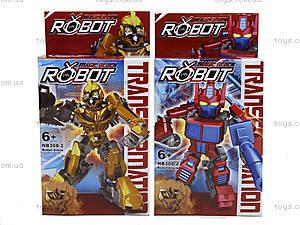 Детская игрушка трансформер-робот для мальчиков, NB308-2, цена