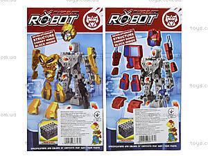 Детская игрушка трансформер-робот для мальчиков, NB308-2, игрушки