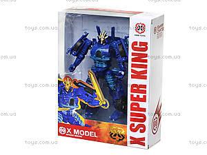 Игрушечный трансформер-робот Super King, 701-706, детские игрушки