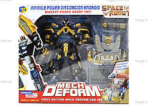 Робот-трансформер робот «Космический воин», D622-E236(633625), игрушки