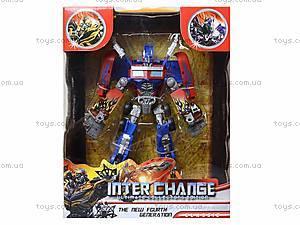 Детский трансформер-робот для ребят, 4088, купить