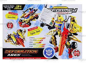 Детский трансформер-робот Warrior, 666-B, цена