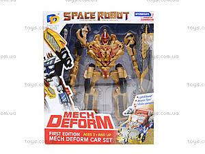 Трансформер-робот Space Robot, D622-D236(615539), отзывы