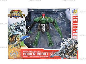 Трансформер-робот «Динозавр», D622-E263, toys.com.ua