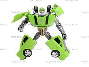 Игрушечный трансформер «Гоночный автомобиль», D622-D233A(597789), детские игрушки