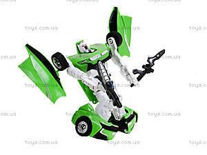 Игрушечный трансформер «Робот-машина», 2115AB, купить