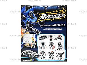Игрушечный трансформер «Робот-машина», 2115AB, игрушки
