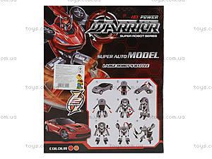 Игрушечный трансформер-робот Warrior, 2116AB, цена