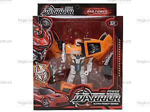 Игрушечный трансформер-робот Warrior, 2116AB, игрушки