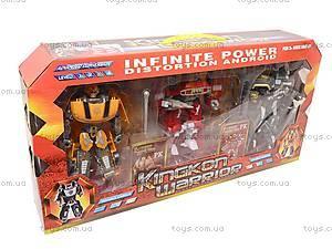 Трансформер-робот в наборе, D622-E78, детские игрушки