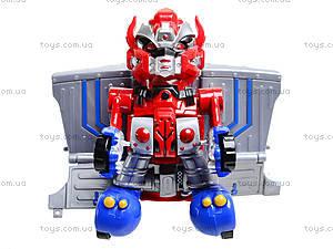 Робот-трансформер в коробке, 338-C, игрушки