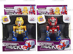 Робот-трансформер в коробке, 338-C, детские игрушки