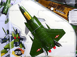Трансформер-самолет на планшете, KY80306R-1, купить
