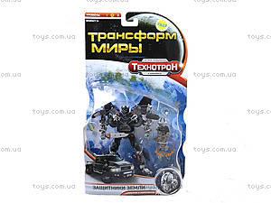 Трансформер «Технотрон» на планшете, 8098, детские игрушки