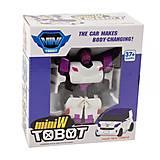 """Трансформер """"Tobot mini W"""", бело-фиолетовый, 238W, купить"""