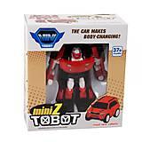 """Трансформер """"Tobot mini Z"""", 238Z, фото"""