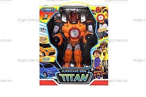 Трансформер «TOBOT TITAN» оранжевый, 505