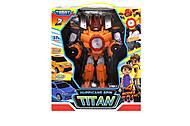 Трансформер «TOBOT TITAN» оранжевый, 505, фото