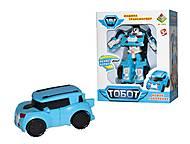 Трансформер «Тобот X» мини, голубой, DT-339, купить