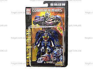 Детский трансформер транспорт Commander, 2213, цена