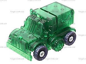 Трансформер для мальчиков «Транспорт», 288-1, детские игрушки
