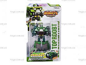 Детский трансформер транспорт Top Robot, 588-3, купить
