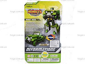 Детский трансформер транспорт Top Robot, 588-3, фото