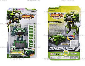 Детский трансформер транспорт Top Robot, 588-3