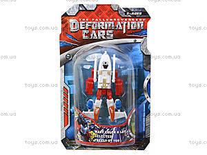 Трансформер-транспорт игрушечный, 589-1B, купить