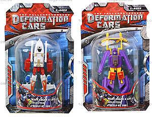 Трансформер-транспорт игрушечный, 589-1B