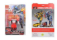 Трансформер транспорт, 6 видов игрушки, 706, купить