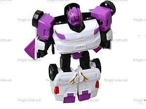 Детский трансформер-транспорт Tobot, 767-767CWXYZ, игрушки