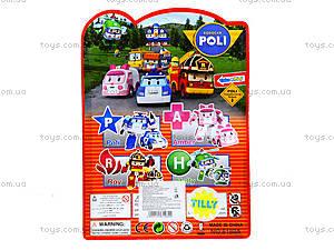 Игрушечный трансформер-транспорт Robocar Poli, 8188A, детские игрушки