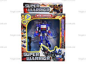 Детский трансформер-транспорт «Суперробот», 89399, магазин игрушек