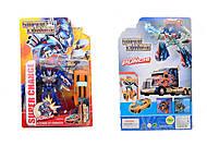 Транспортный трансформер, 2 вида игрушки, 8958