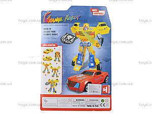 Детская игрушка «Трансформер транспорт», 9-56, іграшки