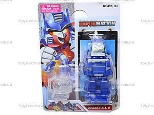 Детская игрушка-трансформер для детей «Транспорт», JL15055, фото