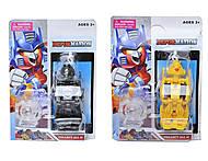 Детская игрушка-трансформер для детей «Транспорт», JL15055, купить