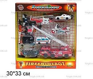 Трансформер-транспорт «Пожарный набор», 2000-11