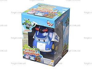 Игрушечный трансформер «Робокар Поли», 83169-72-2, игрушки
