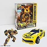 """Трансформер """"Бамблби"""" желтая машина, 611-26, фото"""