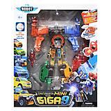 """Трансформер игрушечный """"Giga Robot"""" , 339-9C"""