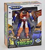 Трансформер игрушечный «Тобот» , 2055, купить