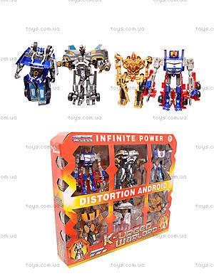 Трансформеры игрушечные в наборе, D622-E107